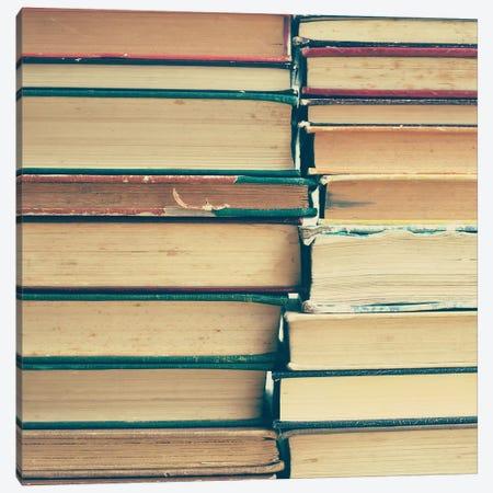 Books Canvas Print #CMN25} by Caroline Mint Canvas Print