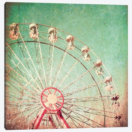 Ferris Love Stories Canvas Print #CMN47} by Caroline Mint Canvas Print