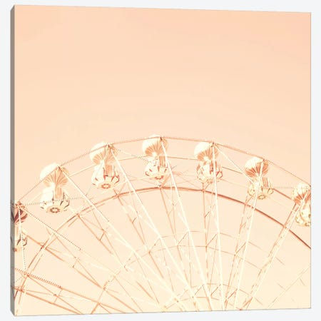 Ferris Over Blusk Sky Canvas Print #CMN48} by Caroline Mint Canvas Wall Art