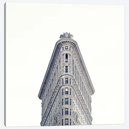 Flat Iron Canvas Print #CMN50} by Caroline Mint Canvas Print