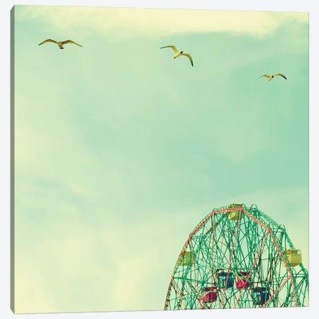 Fly High Canvas Print #CMN52} by Caroline Mint Canvas Print