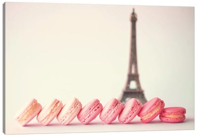 French Macaroons Canvas Art Print