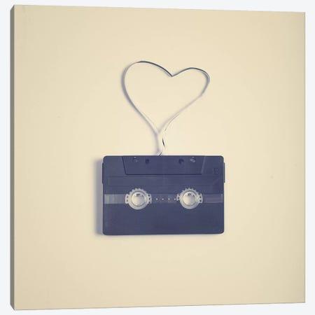 A Romance In A Tape Canvas Print #CMN6} by Caroline Mint Canvas Print