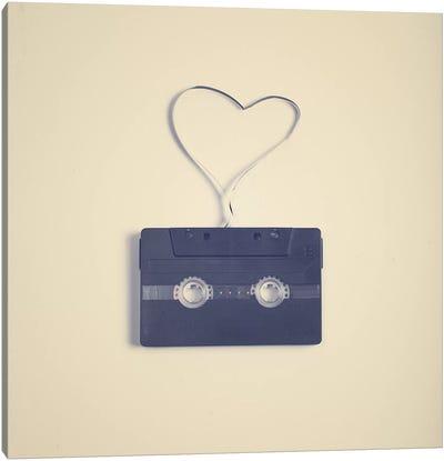 A Romance In A Tape Canvas Art Print
