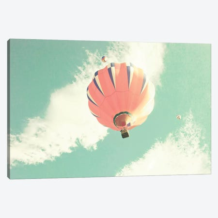 Hot Air Balloon Canvas Print #CMN70} by Caroline Mint Canvas Print