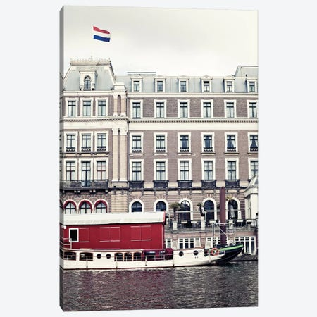 In Amsterdam Canvas Print #CMN73} by Caroline Mint Canvas Art Print