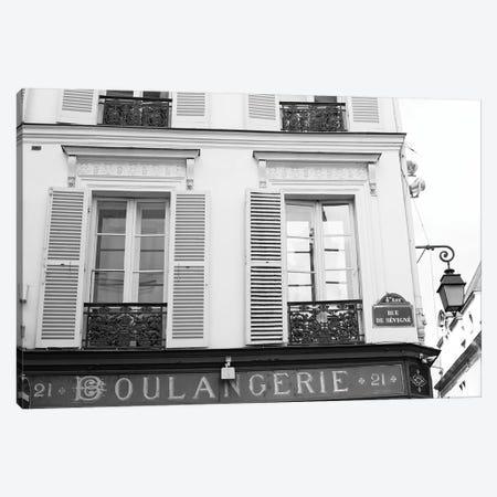 La Boulangerie Canvas Print #CMN76} by Caroline Mint Canvas Artwork
