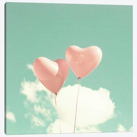 Lovely Hearts 3-Piece Canvas #CMN83} by Caroline Mint Canvas Wall Art