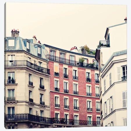 Montmartre Canvas Print #CMN94} by Caroline Mint Canvas Artwork
