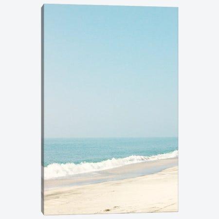 Morning Beach Walk Canvas Print #CMN95} by Caroline Mint Canvas Art