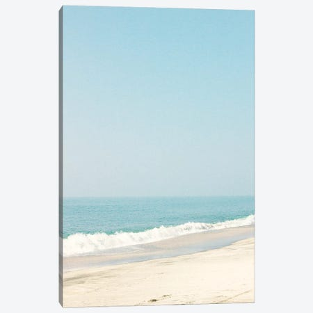 Morning Beach Walk Canvas Print #CMN95} by Caroline Mint Canvas Art