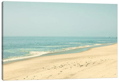 Morning In The Beach Canvas Art Print