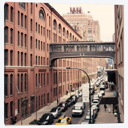 NYC Chelsea Canvas Print #CMN98} by Caroline Mint Canvas Art Print