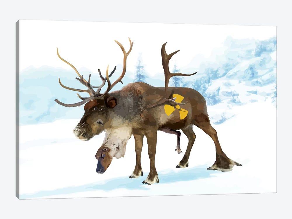 Irradiated Reindeer by Carl Moore 1-piece Art Print