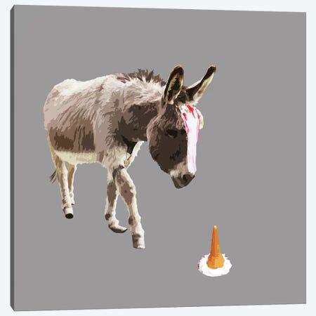 Failed Unicorn Canvas Print #CMO1} by Carl Moore Canvas Art Print