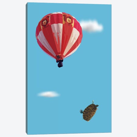 Turtle Drop Canvas Print #CMO21} by Carl Moore Canvas Art Print
