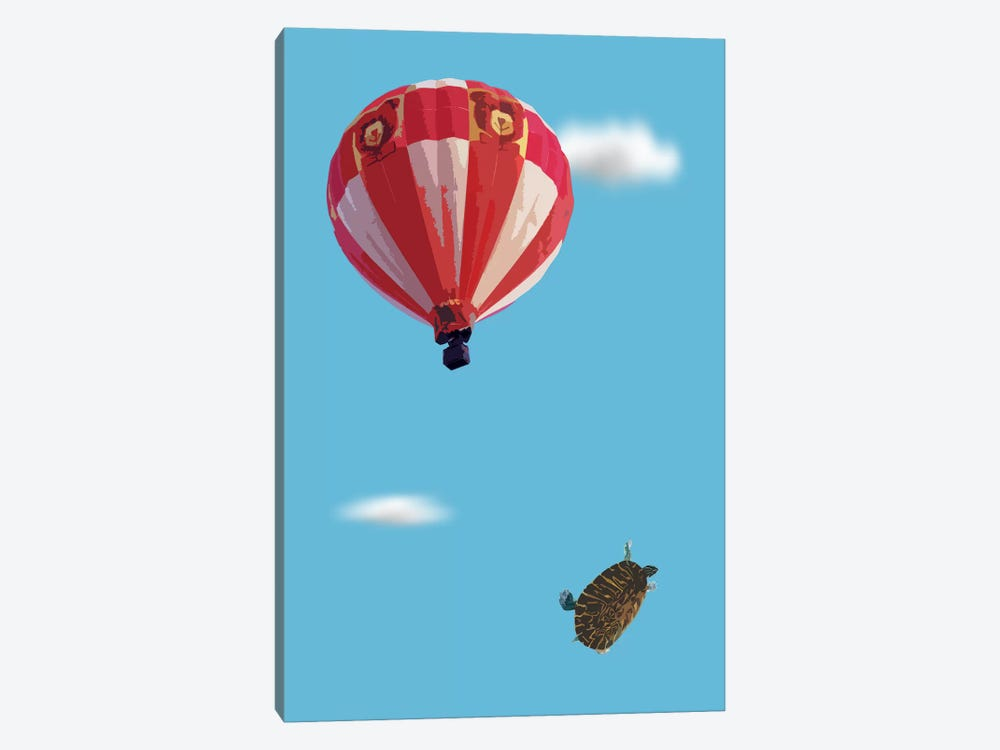 Turtle Drop by Carl Moore 1-piece Art Print