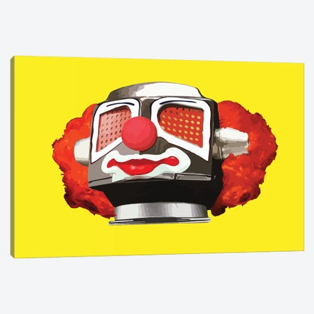 Clownbot Canvas Print #CMO22} by Carl Moore Canvas Print