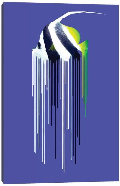 Bannerfish Canvas Art Print