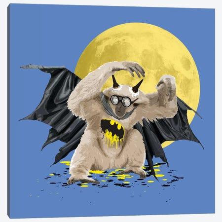BatGib Midnight Canvas Print #CMO27} by Carl Moore Canvas Art