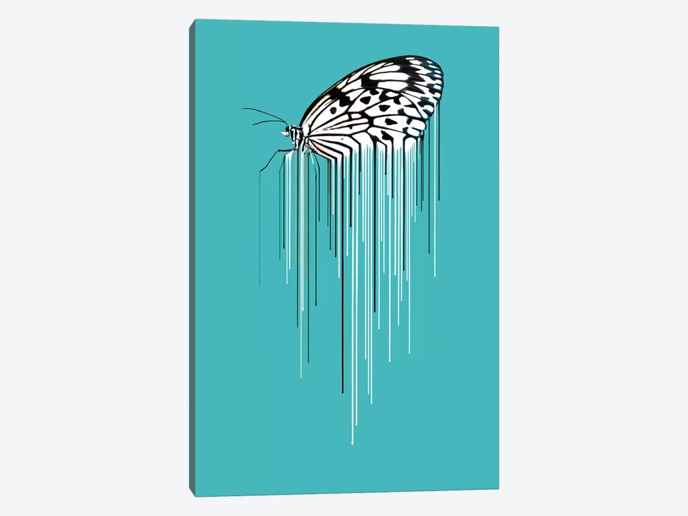 Butterfly by Carl Moore 1-piece Canvas Artwork