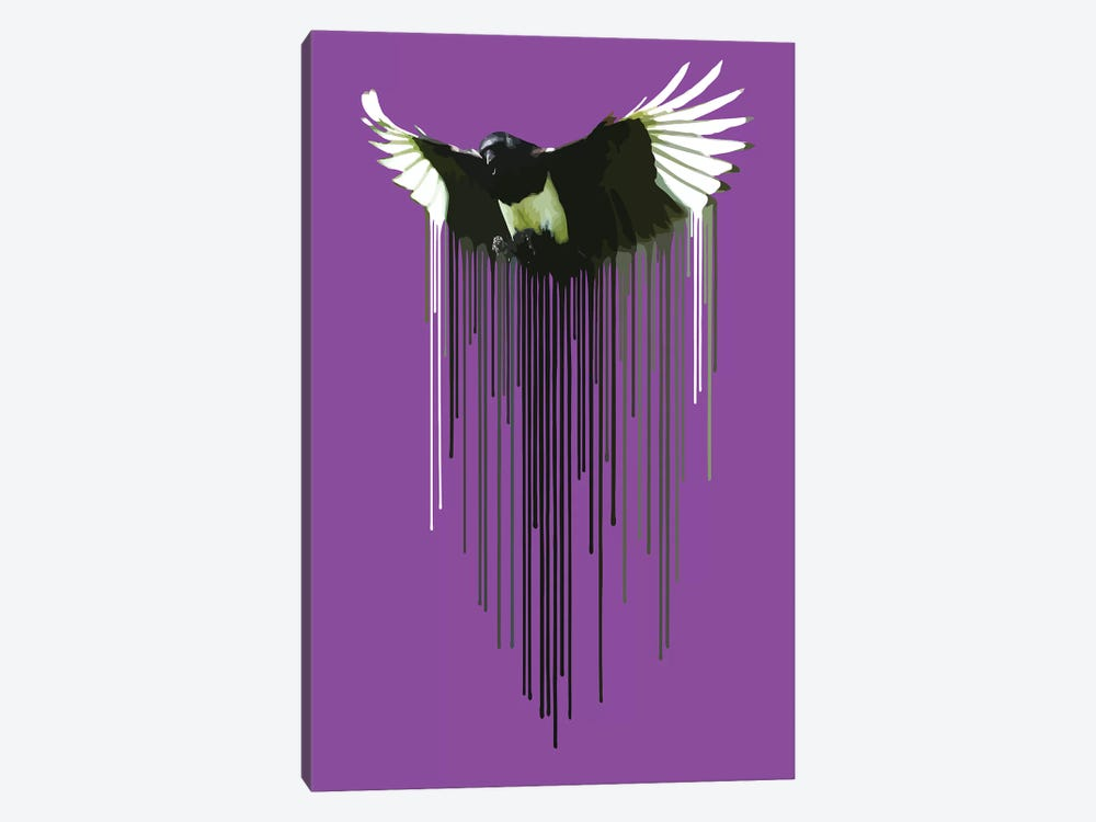 Magpie by Carl Moore 1-piece Canvas Art