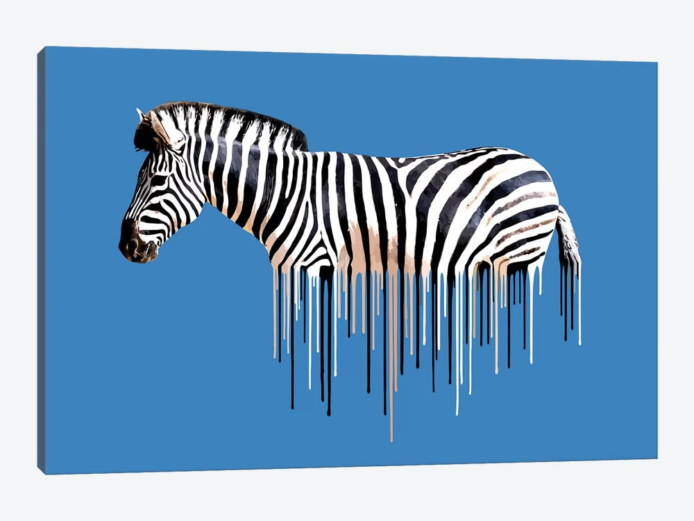 Zebra by Carl Moore 1-piece Art Print