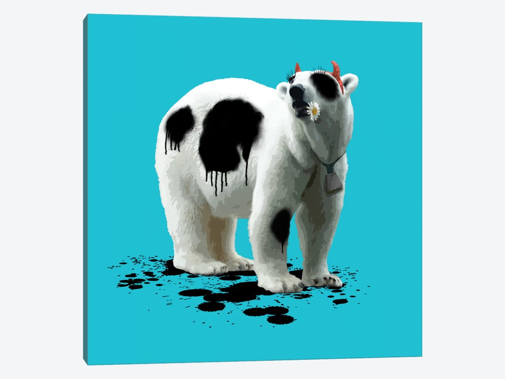 The Polar Bear Who Wanted To Be A Cow 1-piece Art Print
