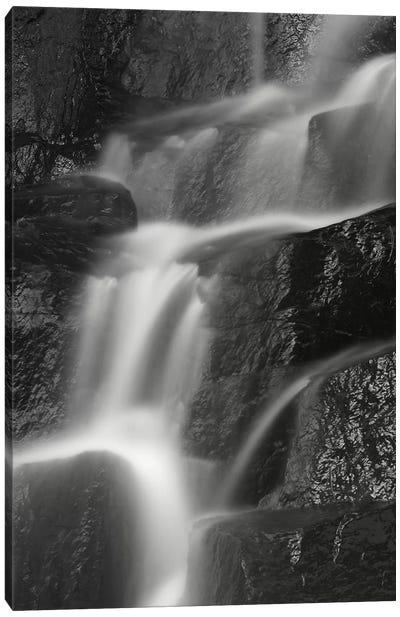 USA, New York State. Waterfall Canvas Art Print