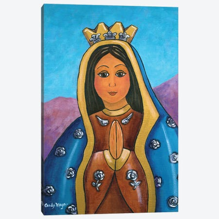 Milagro Guadalupe Canvas Print #CMY103} by Candy Mayer Canvas Artwork