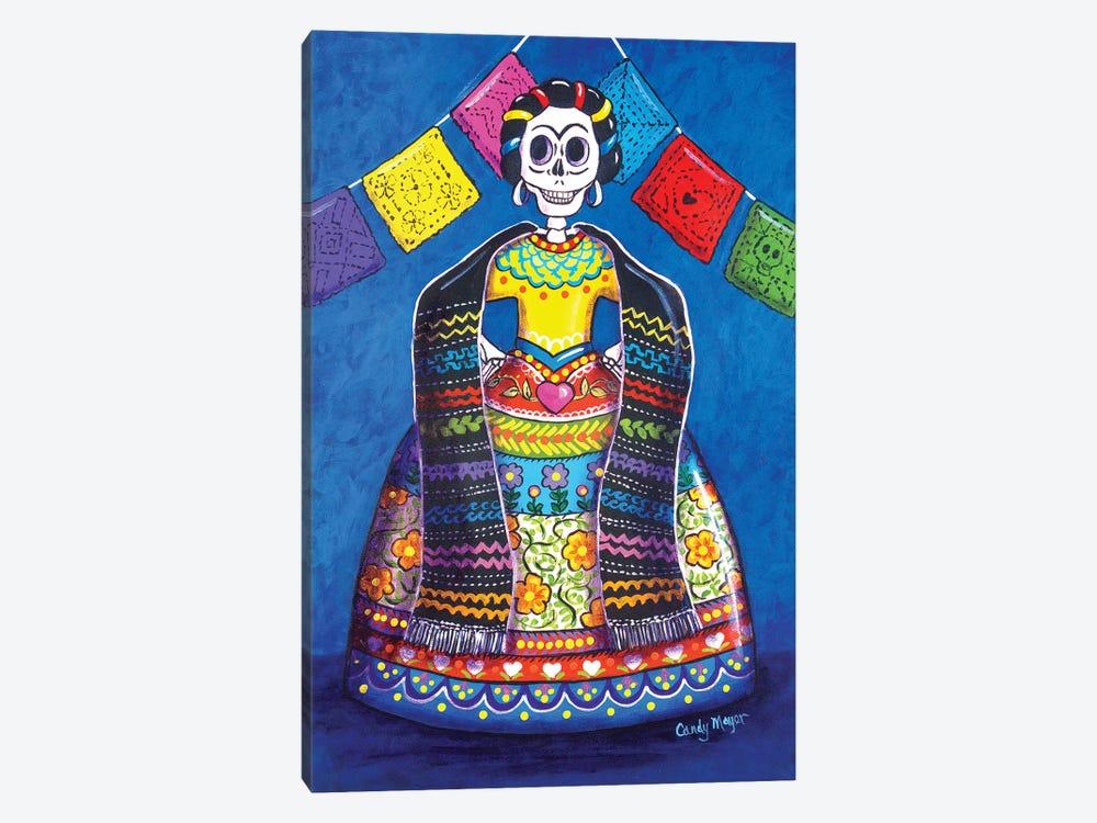 Papel Picado Frida by Candy Mayer 1-piece Art Print
