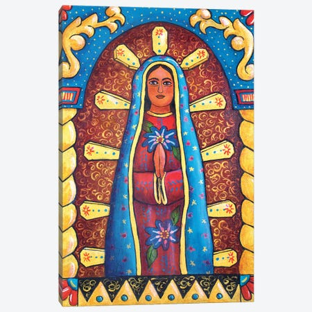 Guadalupe Retablo Canvas Print #CMY109} by Candy Mayer Canvas Wall Art