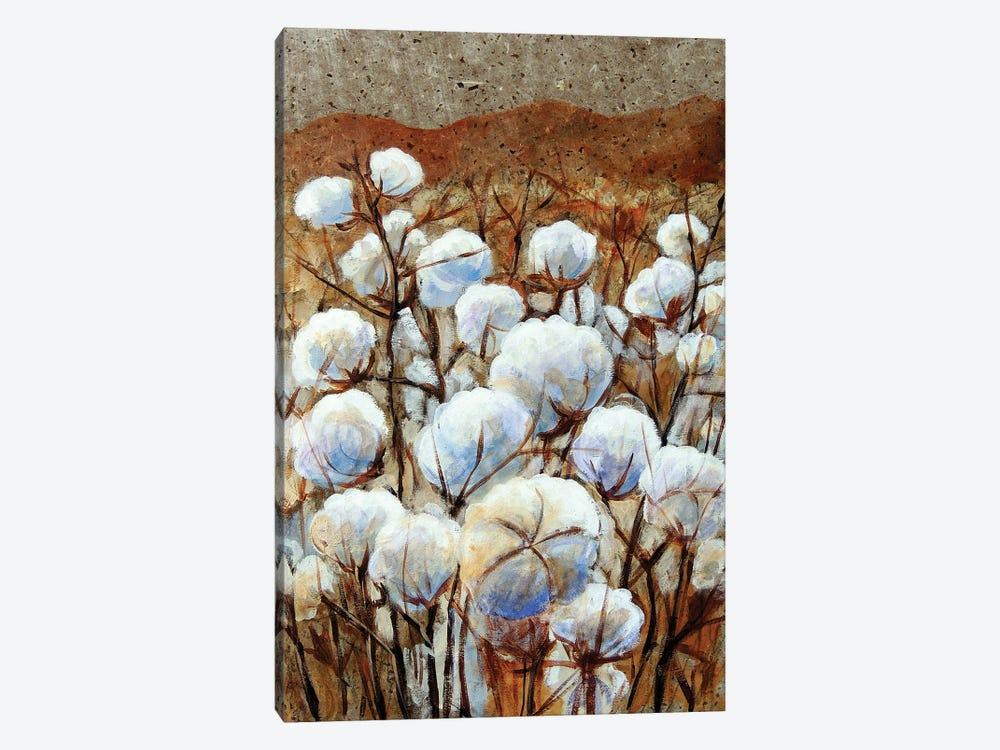 Cotton Fields by Candy Mayer 1-piece Canvas Art Print