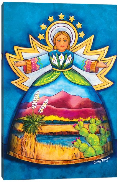 Desert Angel Canvas Art Print