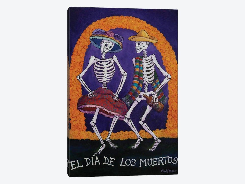 Dia De Los Muertos by Candy Mayer 1-piece Canvas Wall Art