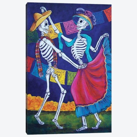 Bailando Canvas Print #CMY1} by Candy Mayer Canvas Artwork