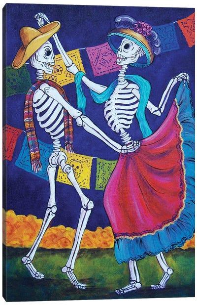 Bailando Canvas Art Print