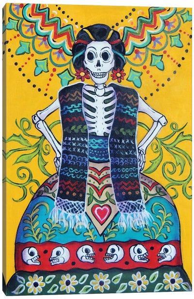 Folkart Frida Canvas Art Print