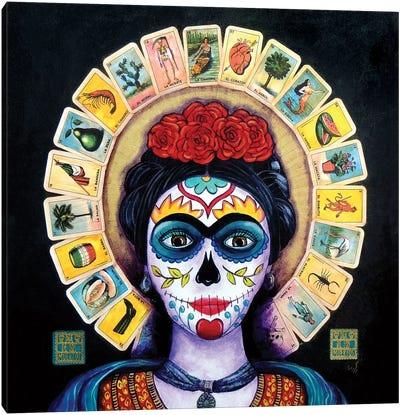 Frida Loteria Canvas Art Print