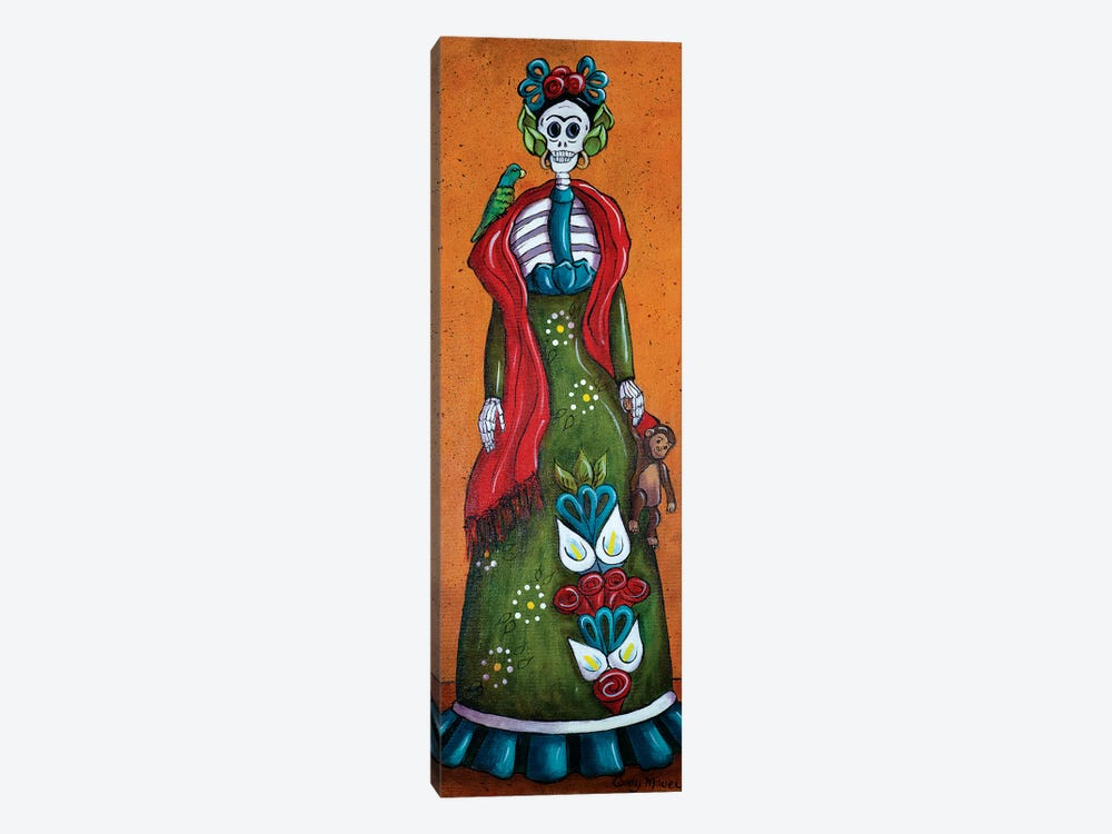 Frida With Monkey 1-piece Art Print