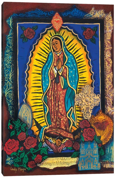 Guadalupe Collage Canvas Art Print