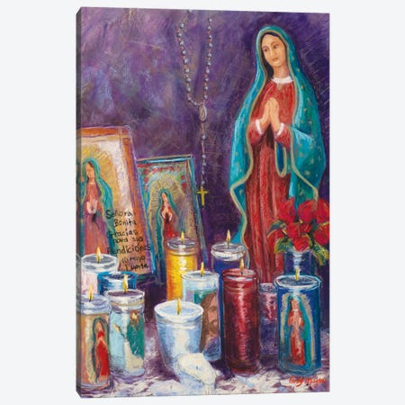 Guadalupe Shrine Canvas Print #CMY27} by Candy Mayer Canvas Artwork