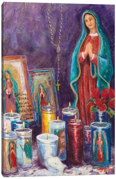 Guadalupe Shrine Canvas Art Print