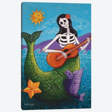 La Sirena Canvas Print #CMY30} by Candy Mayer Canvas Wall Art