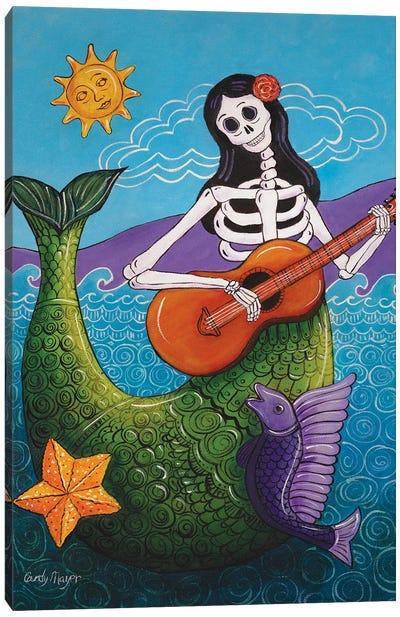 La Sirena Canvas Art Print