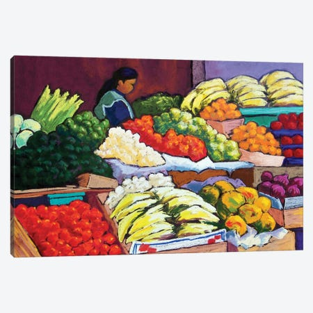 Mercado Canvas Print #CMY34} by Candy Mayer Canvas Art Print