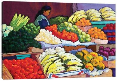 Mercado Canvas Art Print