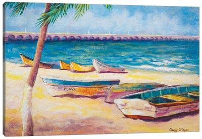 Mexican Beach Canvas Art Print