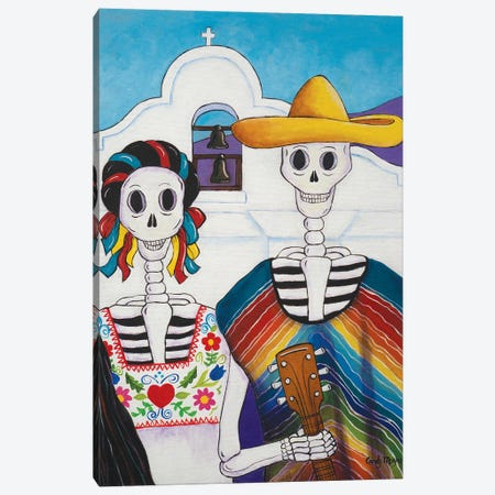 Mexican Gothic Canvas Print #CMY37} by Candy Mayer Canvas Print