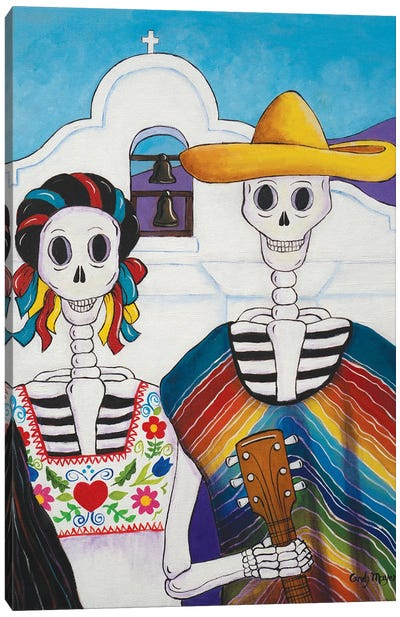 Mexican Gothic Canvas Art Print
